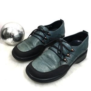 Dansko Comfort Janika Leather Lace Up Oxford Shoes